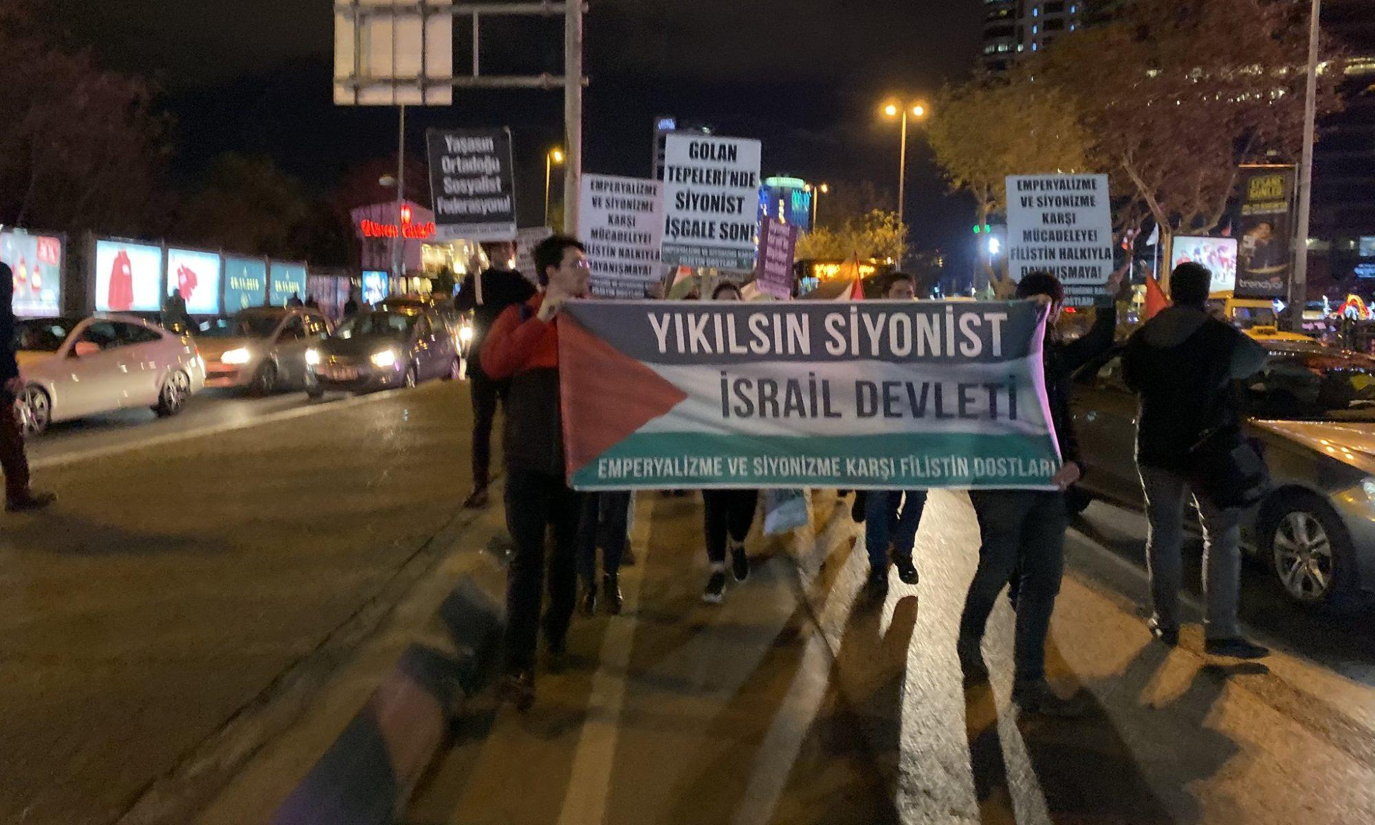 Emperyalizme ve Siyonizme Karşı Filistin Dostları